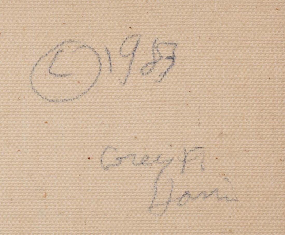 "Greg F. Harris (b. 1953), ""Sea Winds"", c. 1980, oil on - 6"