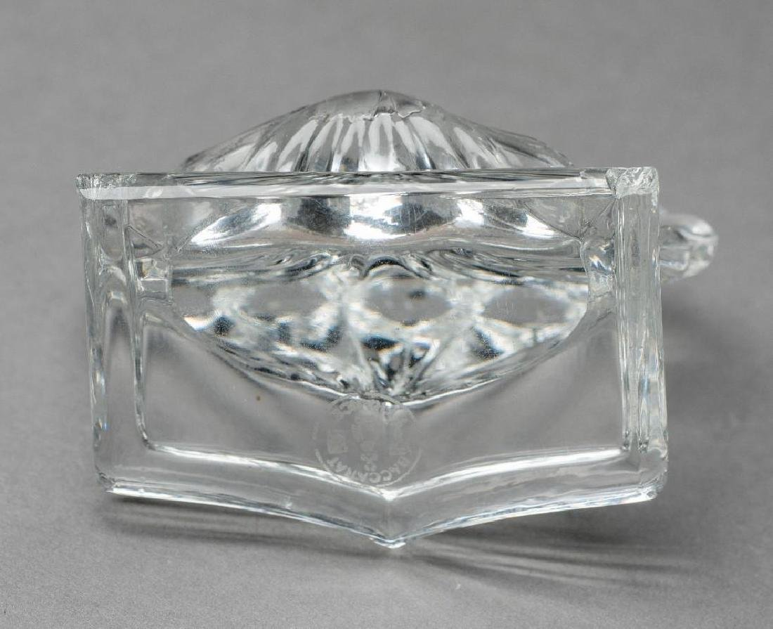 French Crystal, 15 Baccarat Shell Place Card Holders - 6