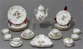 Herend Rothschild Bird  Porcelain Serviceware