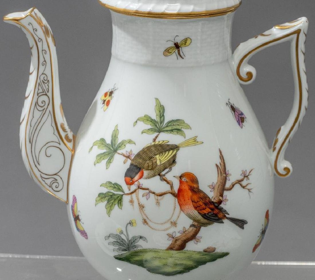 """Herend, """"Rothschild"""" Bird  Porcelain Serviceware - 2"""