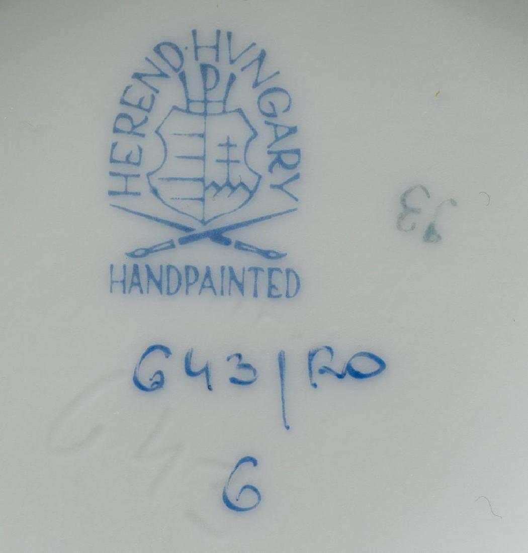 """Herend, """"Rothschild"""" Bird  Porcelain Serviceware - 3"""