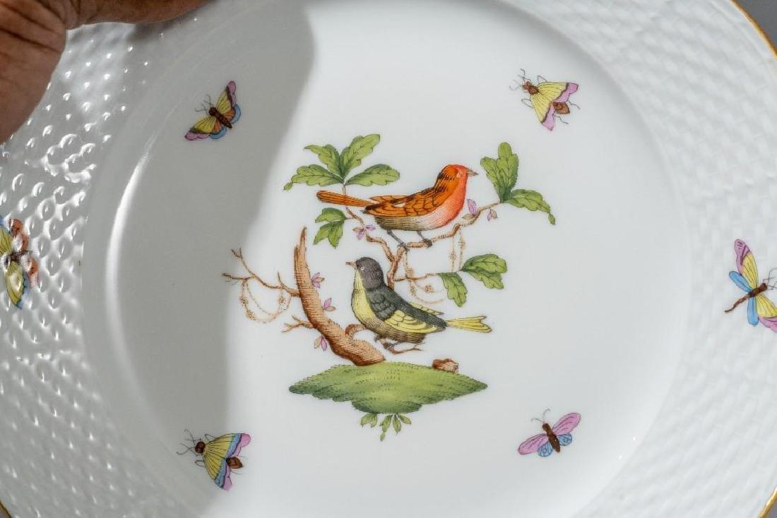 """Herend, """"Rothschild"""" Bird  Porcelain Serviceware - 4"""