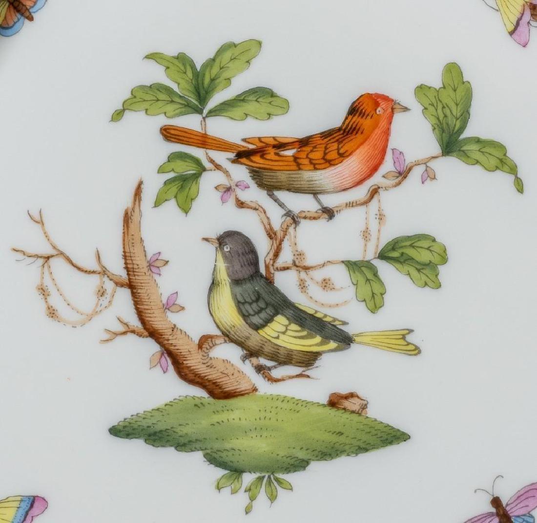 """Herend, """"Rothschild"""" Bird  Porcelain Serviceware - 5"""