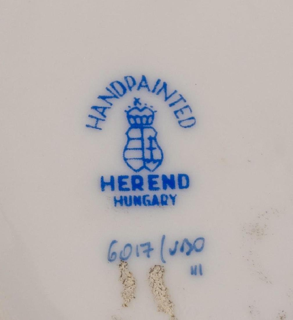 "Herend, ""Queen Victoria"", 4 Miniature Covered Tureens - 4"