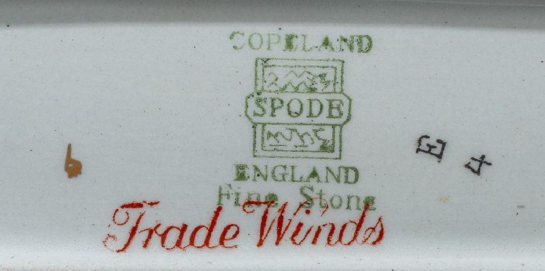 "Copeland-Spode, ""Tradewinds"" Dinnerware Service - 4"