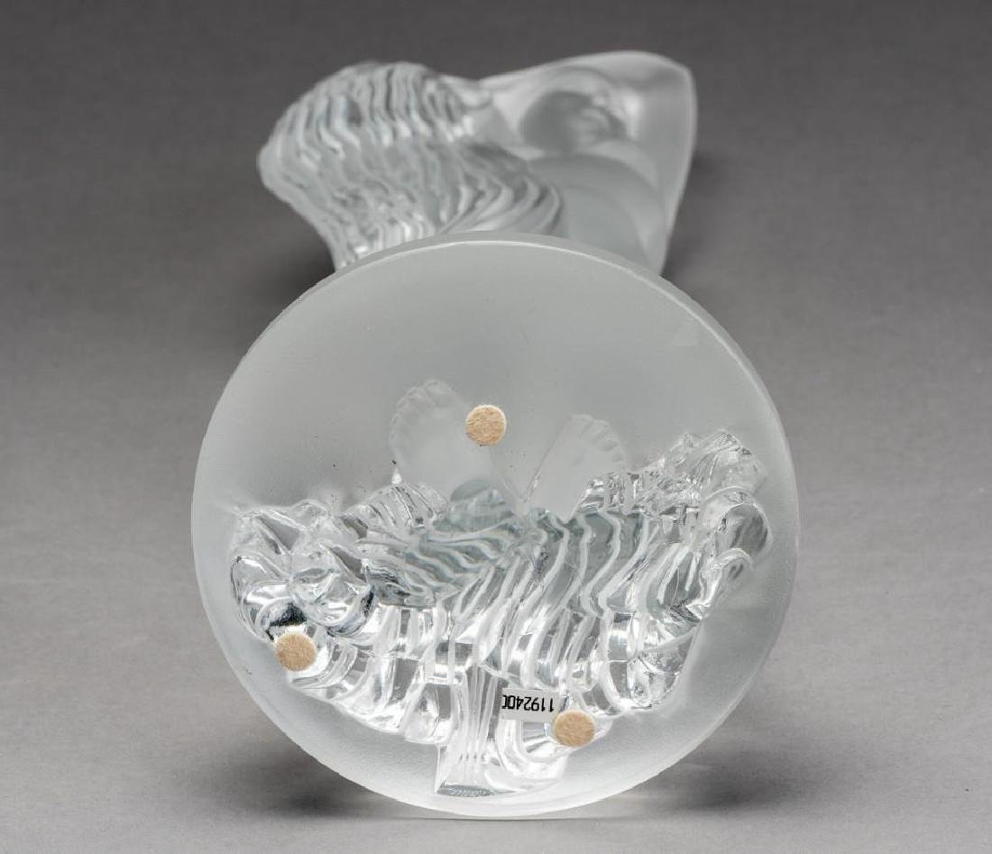 "Lalique, France ""Grand Nue Neredeis"", Signed Crystal - 10"