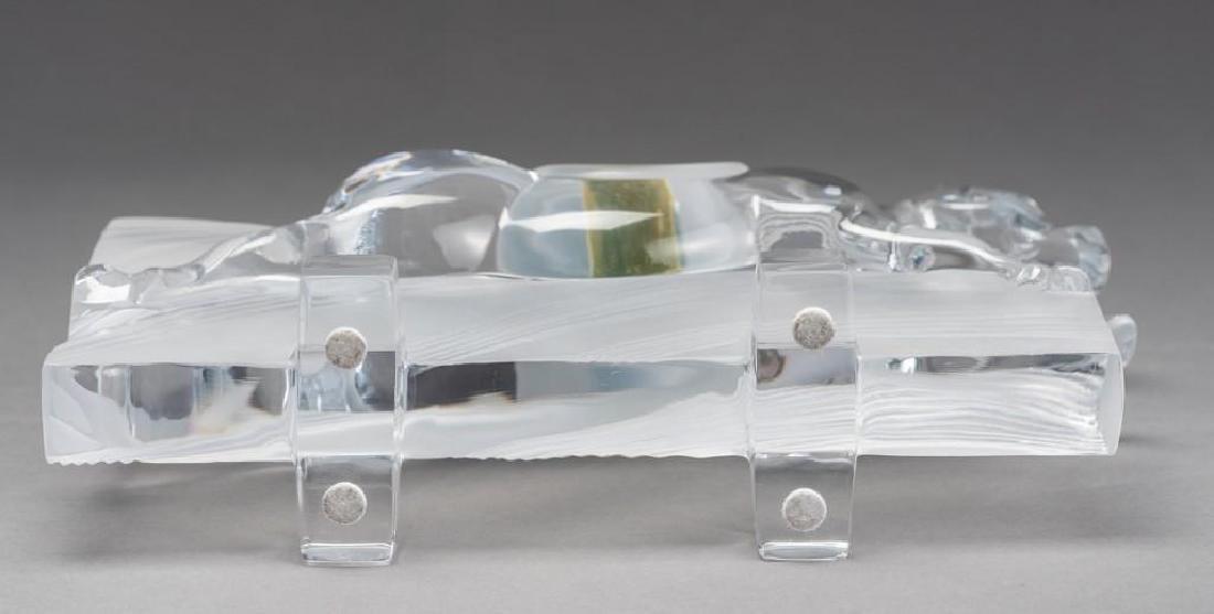 "Daum, France (20thc.),""Ming"" Race Horse Crystal - 8"