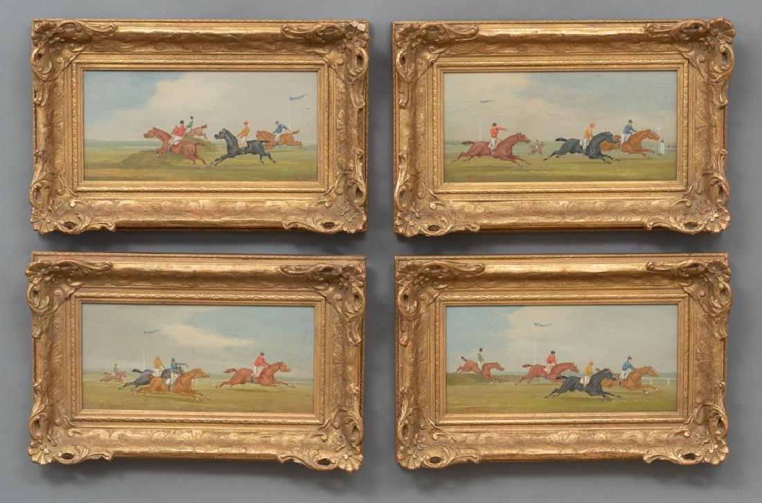 William Rowland (20th Century) Set 4 Equestrian