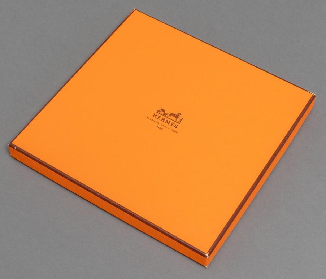 "Hermes Scarf ""En Course"" in the Original Box - 4"