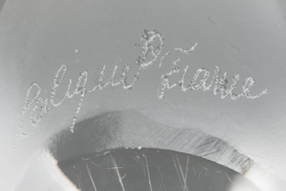 """Lalique, France """"Sumatra"""" Elephant, Signed Crystal - 2"""
