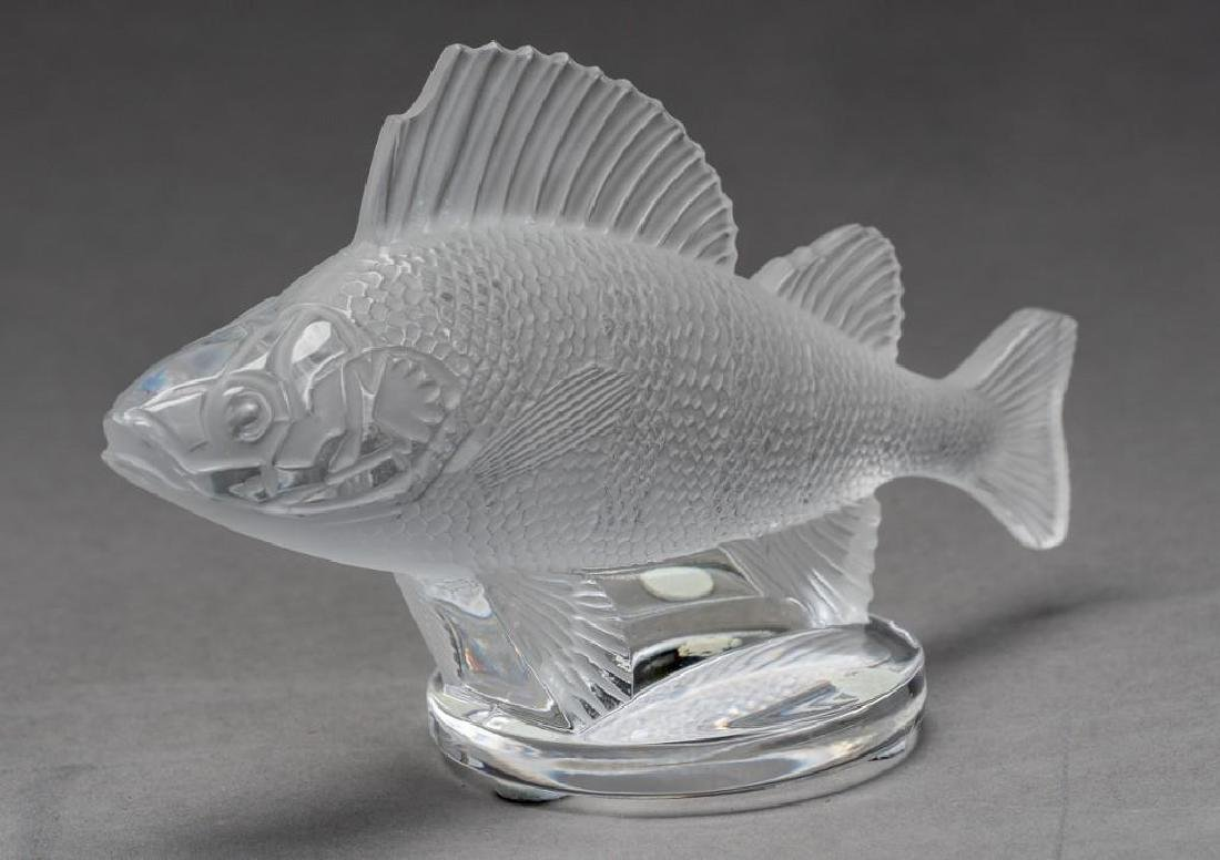 "Lalique, France ""Poisson"", (19) Crystal Fish Figures - 2"