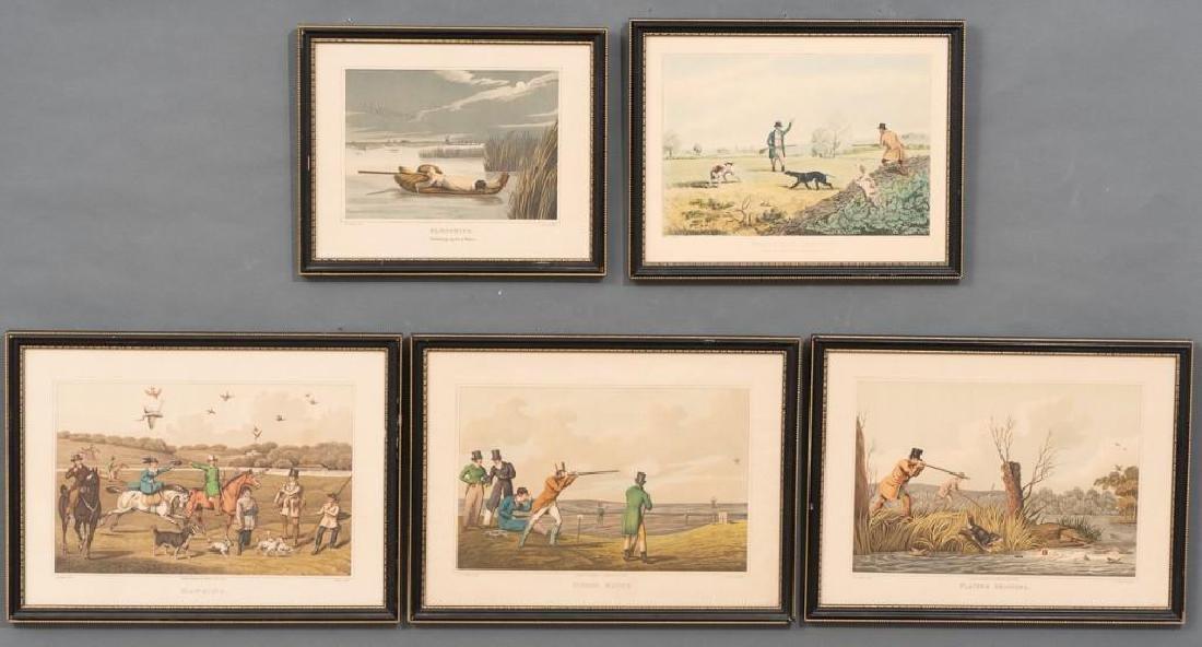 Henry Alken (1810-1894) Set of 5 Lithographs