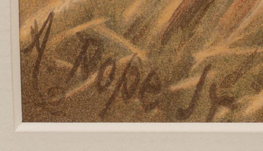 Alexander Pope, Jr. (1849-1924) Set of 6 Framed Dog - 3