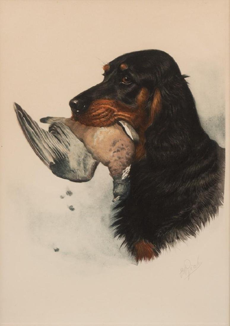 "Boris Riab (1898-1975), ""Gordon Setter"", c. 1945, color"