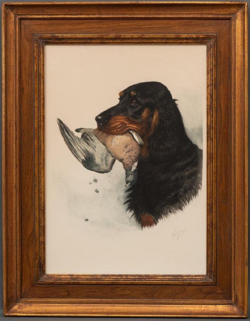 "Boris Riab (1898-1975), ""Gordon Setter"", c. 1945, color - 2"