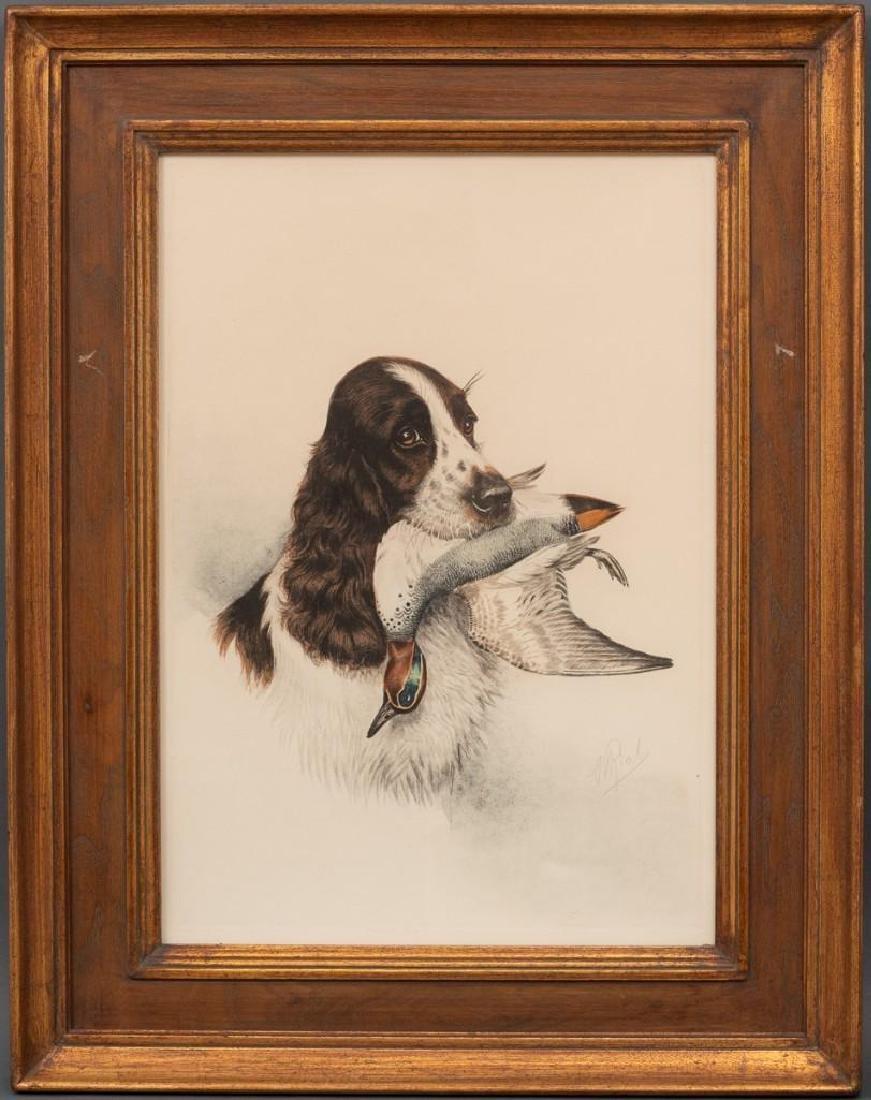 """Boris Riab (1898-1975), """"Cocker Spaniel"""", c. 1945, - 2"""