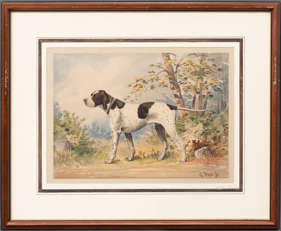 Alexander Pope, Jr. (1849-1924) Set of 6 Framed Dog - 5