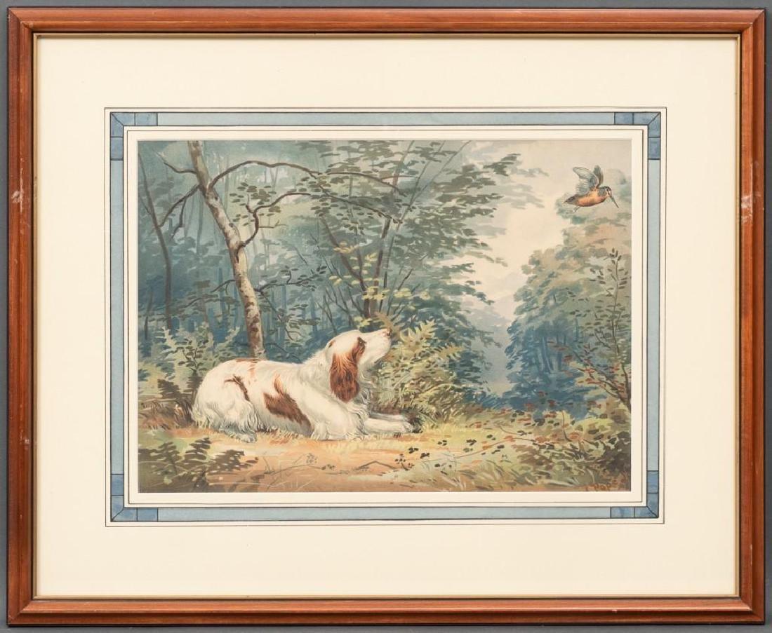 Alexander Pope, Jr. (1849-1924) Set of 6 Framed Dog - 6