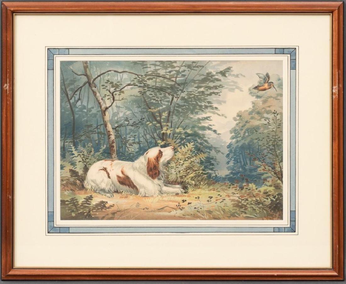 Alexander Pope, Jr. (1849-1924) Set of 6 Framed Dog - 7