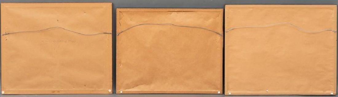 Alexander Pope, Jr. (1849-1924) Set of 6 Framed Dog - 9