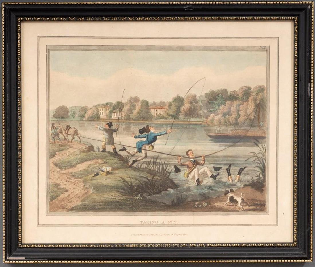 Set of 5 Hand-Colored Engravings - 2