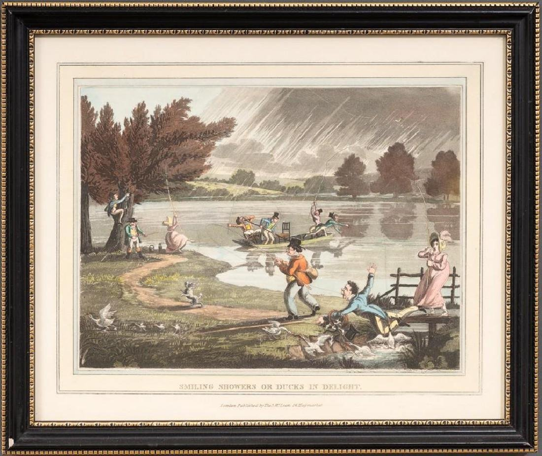 Set of 5 Hand-Colored Engravings - 3