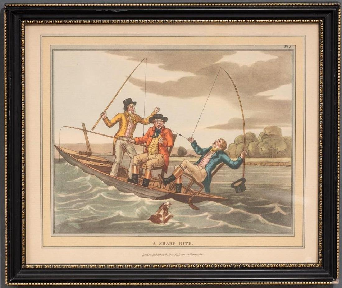 Set of 5 Hand-Colored Engravings - 4