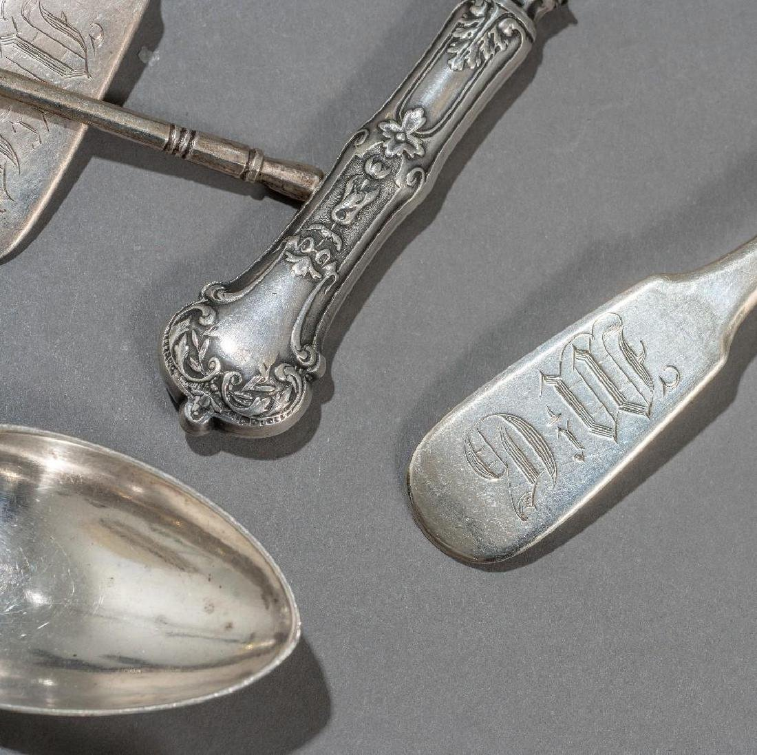 Russian (19th/20th c.) Assorted   Silver Serving Pieces - 2