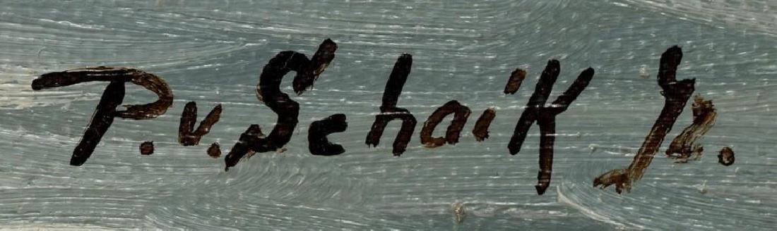 """Pieter van Schaik Jr. (1910-1991),""""Rotterdam Harbor"""", - 3"""