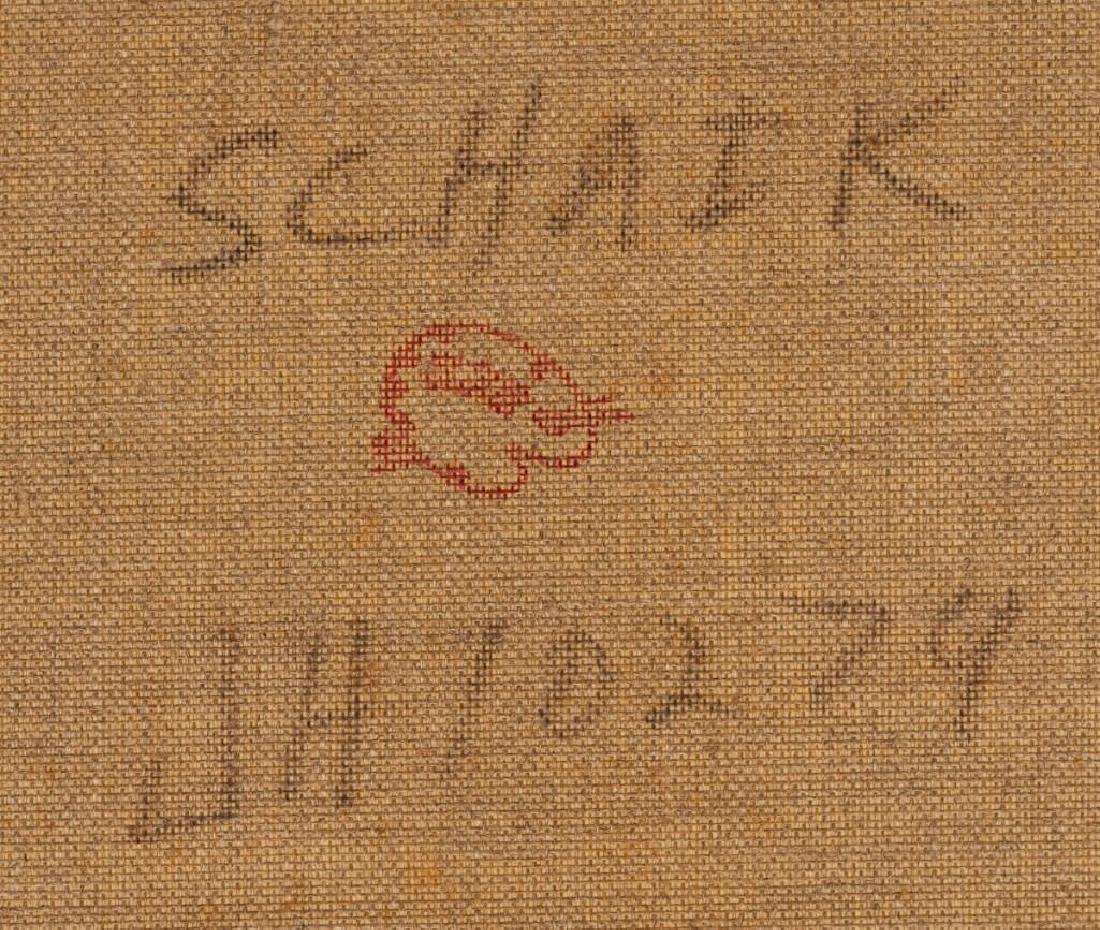 """Pieter van Schaik Jr. (1910-1991),""""Rotterdam Harbor"""", - 5"""