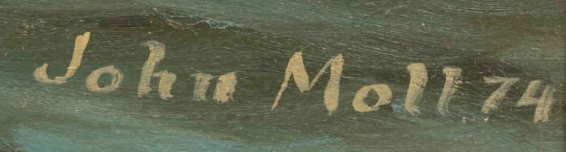 John Moll (1910-1991) Pair of Sail Boat Paintings - 3