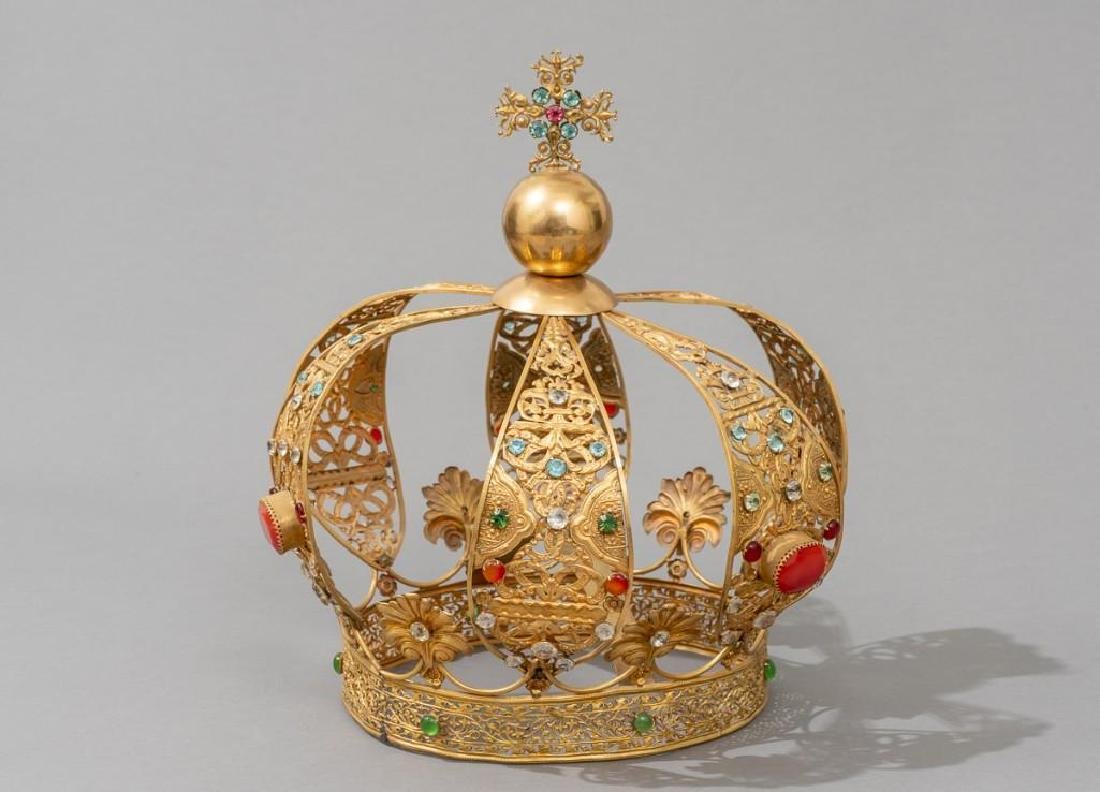 European (late-19th c.) Santos Crown