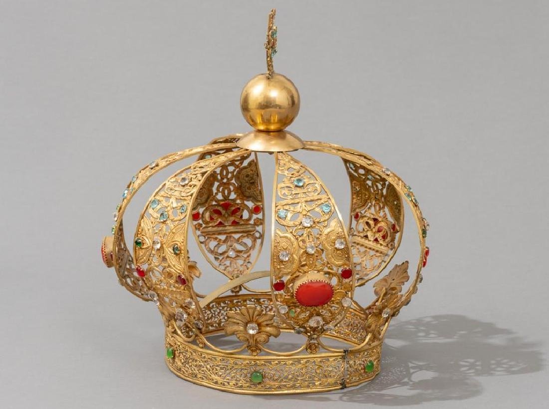 European (late-19th c.) Santos Crown - 2