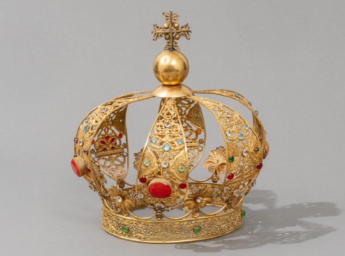 European (late-19th c.) Santos Crown - 3