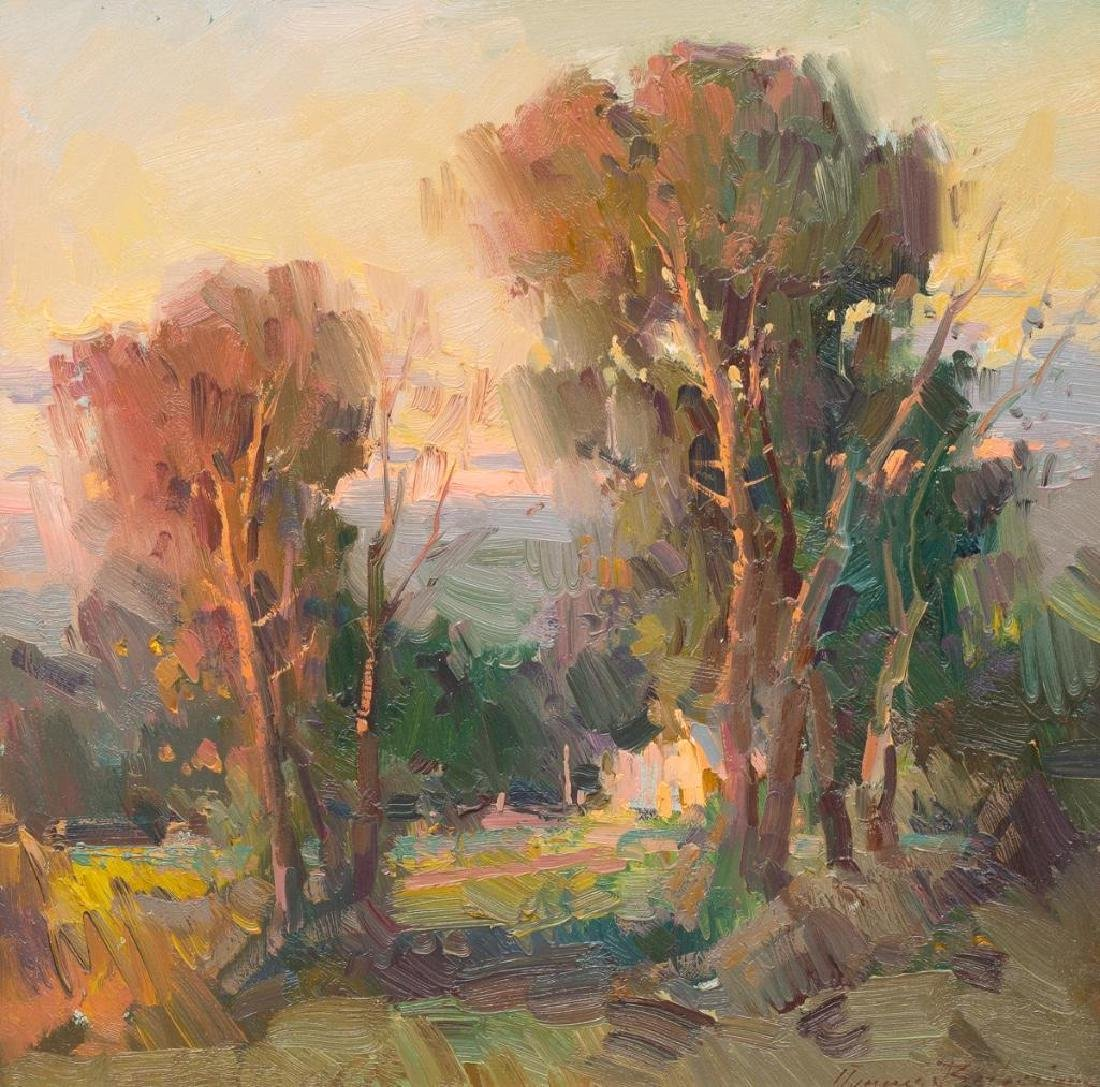 "Ovanes Berberian (American, b. 1951), ""Late Evening"
