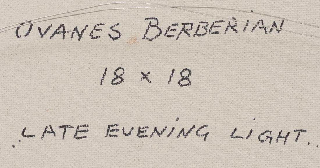 "Ovanes Berberian (American, b. 1951), ""Late Evening - 5"