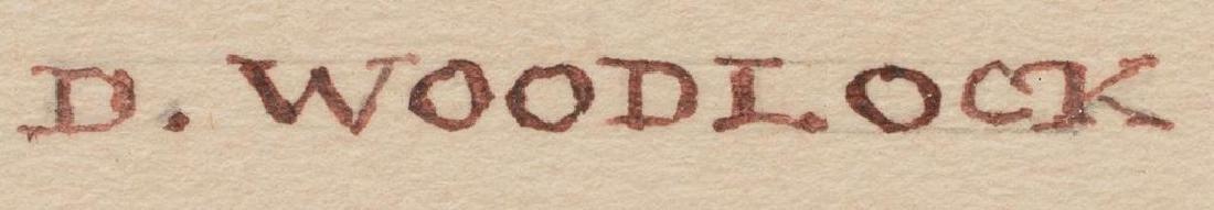 David Woodlock (British, 1842-1929), Pair of - 8