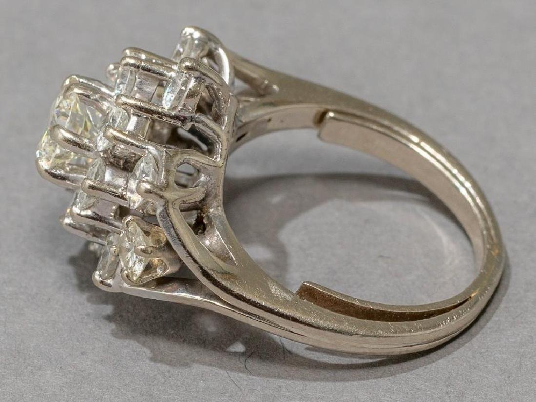 Estate 2.38 ctw. Diamond Cocktail Ring - 5