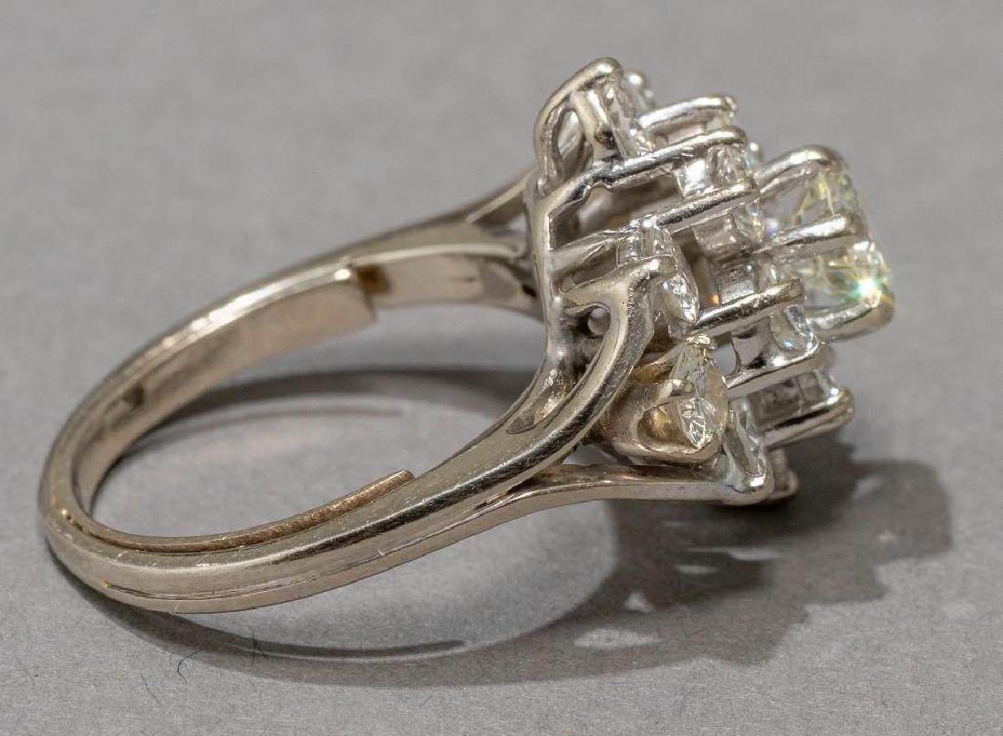Estate 2.38 ctw. Diamond Cocktail Ring - 7