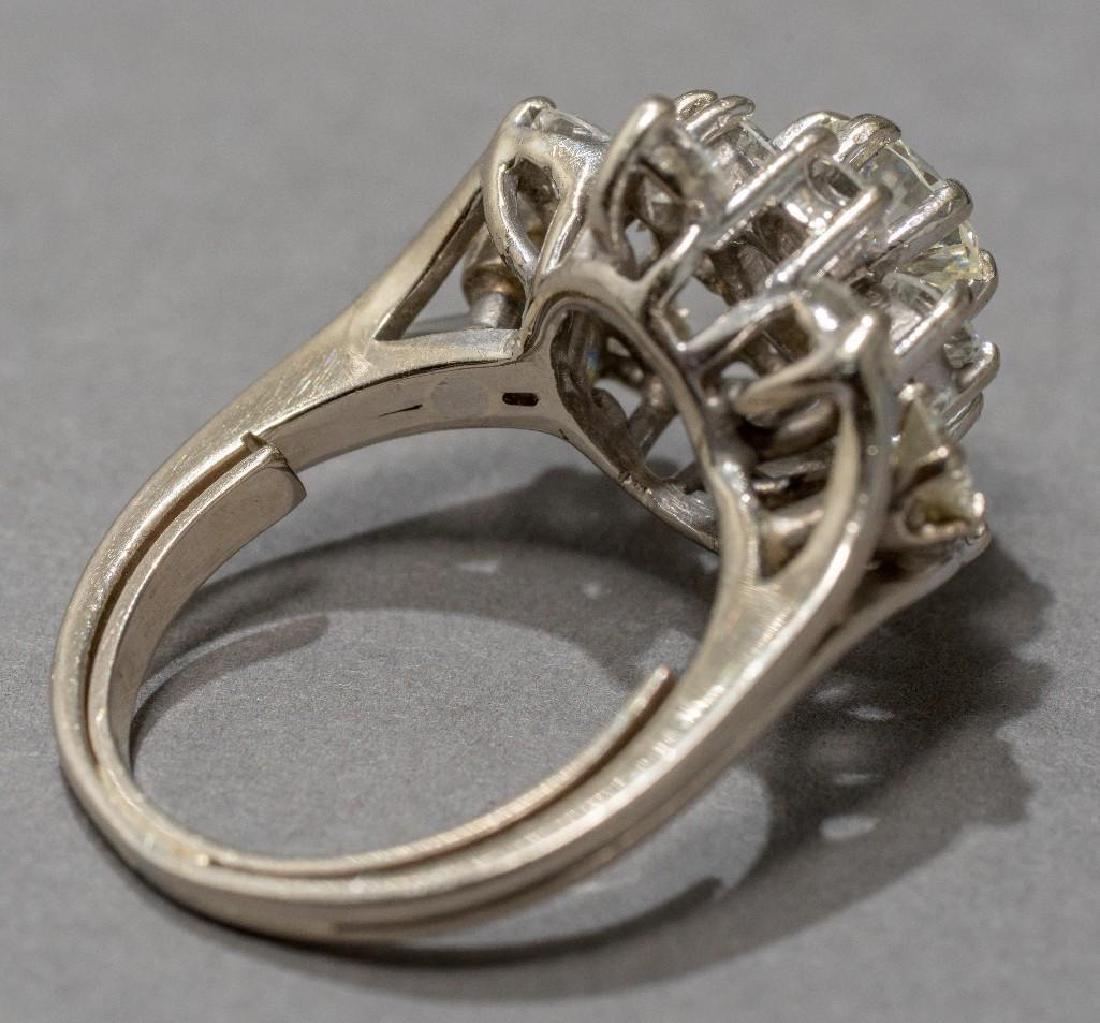 Estate 2.38 ctw. Diamond Cocktail Ring - 8