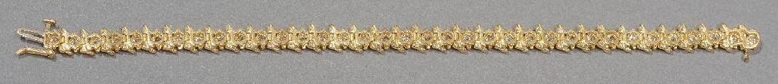 Estate Jewelry Ladies' Diamond Tennis Bracelet - 5