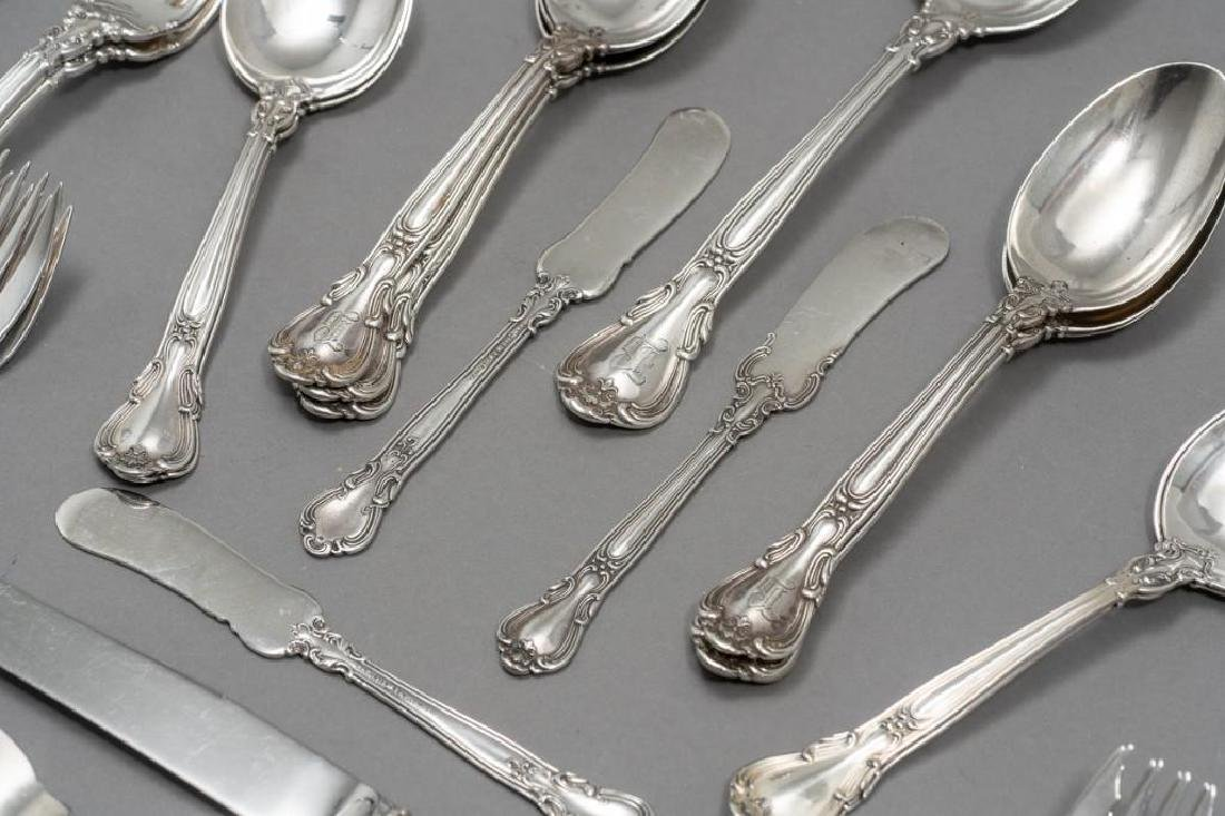 "Gorham, (20th c.), ""Chantilly"" 59-piece Sterling - 3"