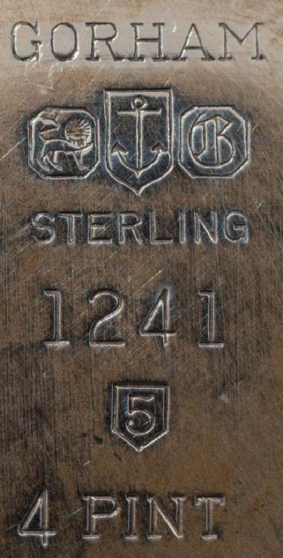 Gorham Sterling Pitcher & Under Plate - 4