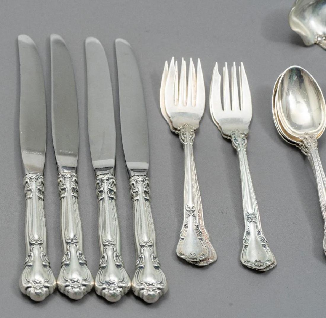 "Gorham, (20th c.), ""Chantilly"" 63-piece Sterling - 6"