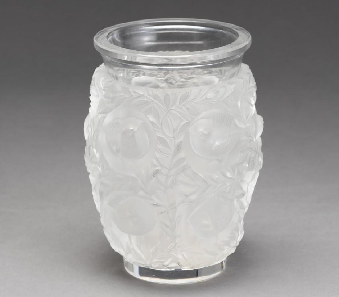 """Lalique, France """"Bagatelle"""", Signed Crystal Vase - 3"""