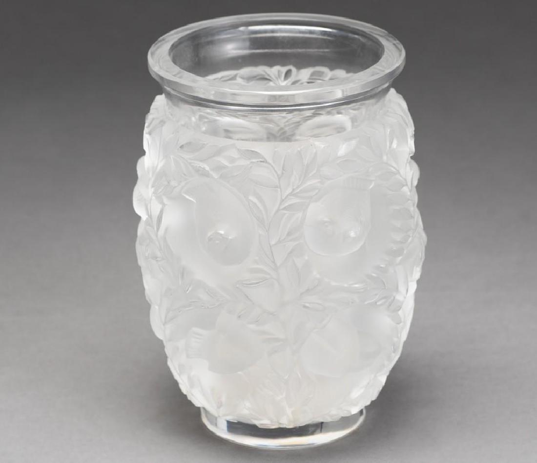 """Lalique, France """"Bagatelle"""", Signed Crystal Vase - 4"""