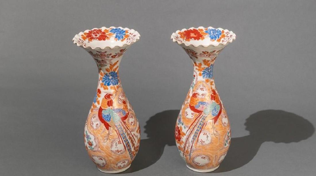 "Japanese (ca. 1870/80's), ""Old Imari""  Vases"