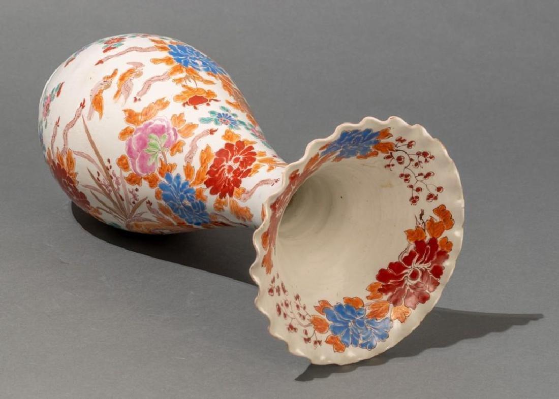 "Japanese (ca. 1870/80's), ""Old Imari""  Vases - 9"