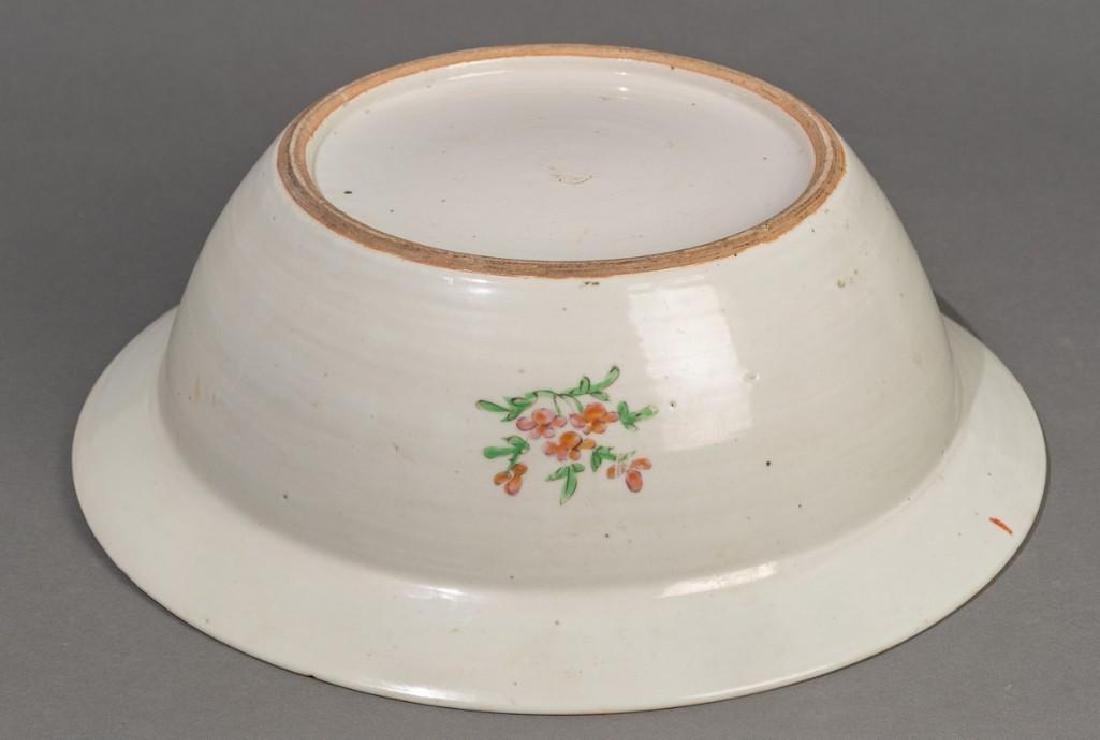 Chinese (ca. 18th/19th c. Famille Verte Large Bowl - 5