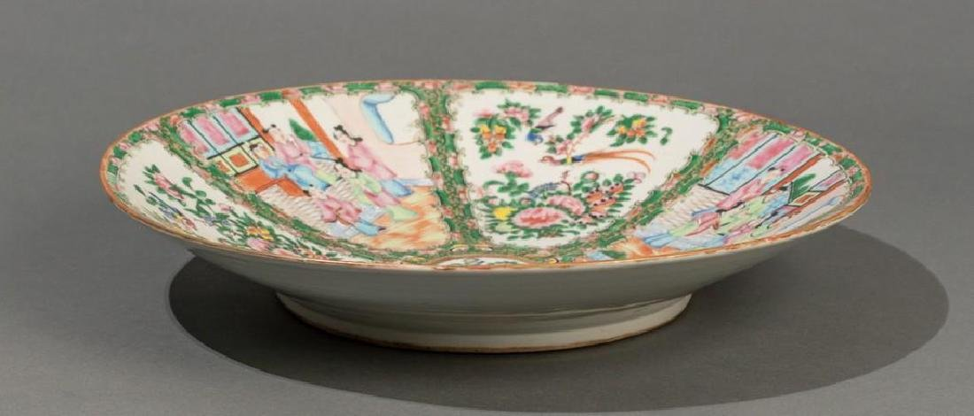 Chinese (ca.18th/19thc.), Rose Medallion Dish - 3
